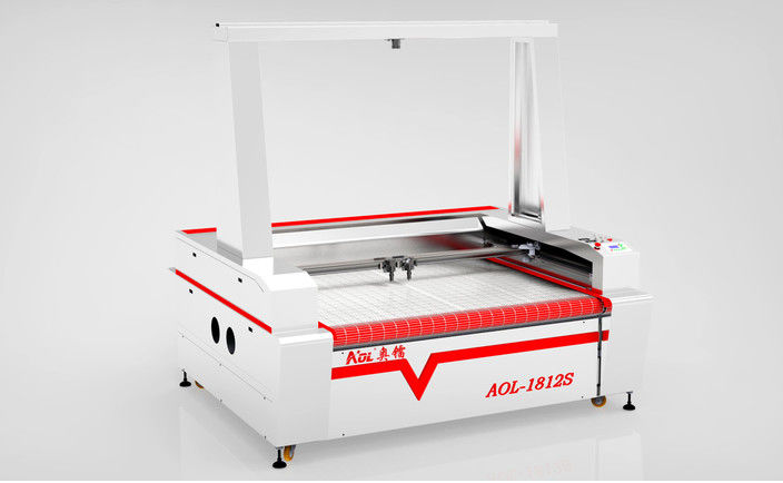 Auto Feeding Ccd Camera Laser Cutting Machine For Textile & Garment & Fabric