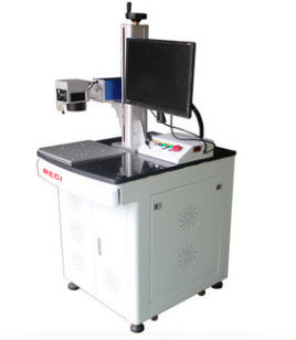 Multifunctional Fiber Desktop Laser Marking Machine 30w For Shoes / Wood Products