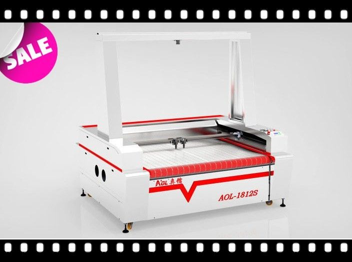 1390 Auto Feeding Laser Cutting Machine With CCD For Wood / Fabric / Acrylic
